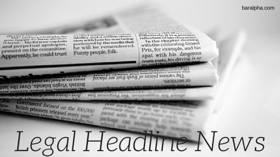legal headline news